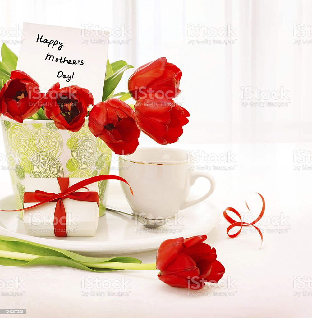 Happy mothers day royalty-free stock photo