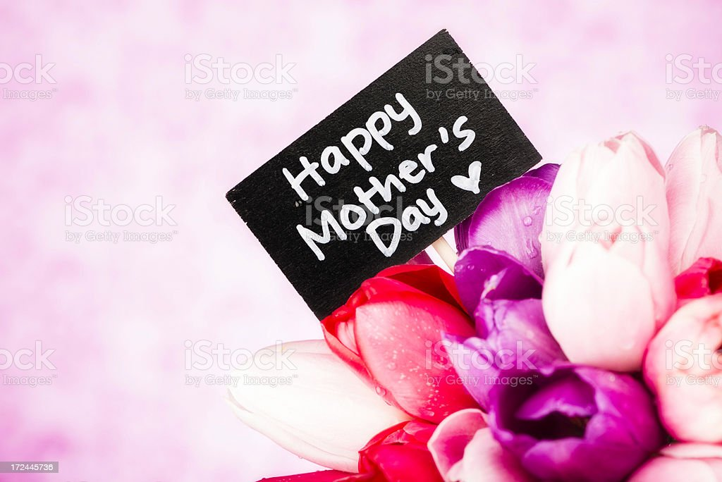 Happy Mother's Day royalty-free stock photo
