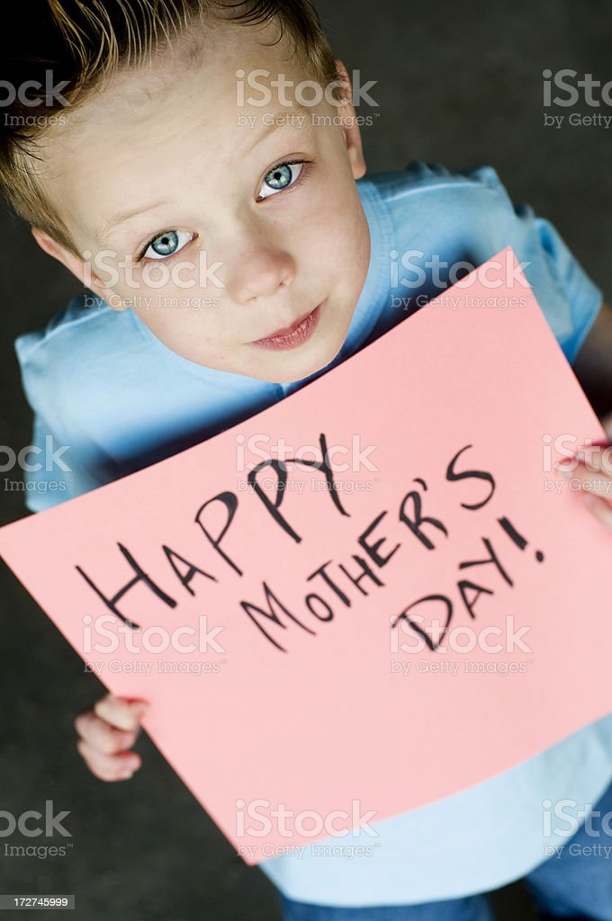Happy Mother's Day! royalty-free stock photo
