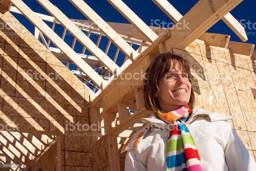Happy New Homeowner royalty-free stock photo