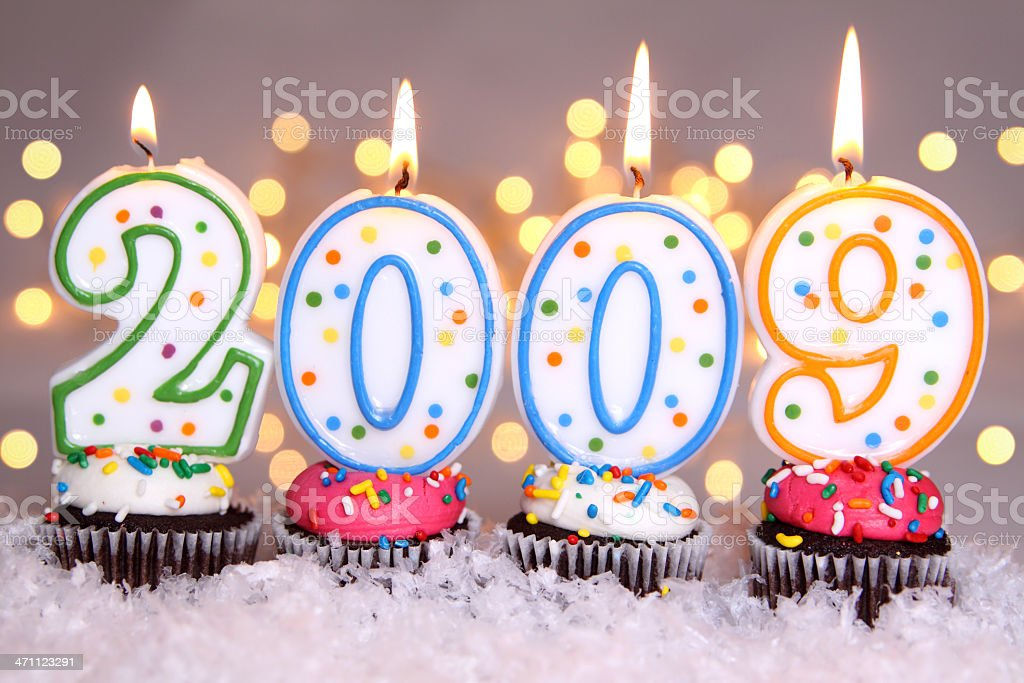 Happy New Year! 2009 royalty-free stock photo