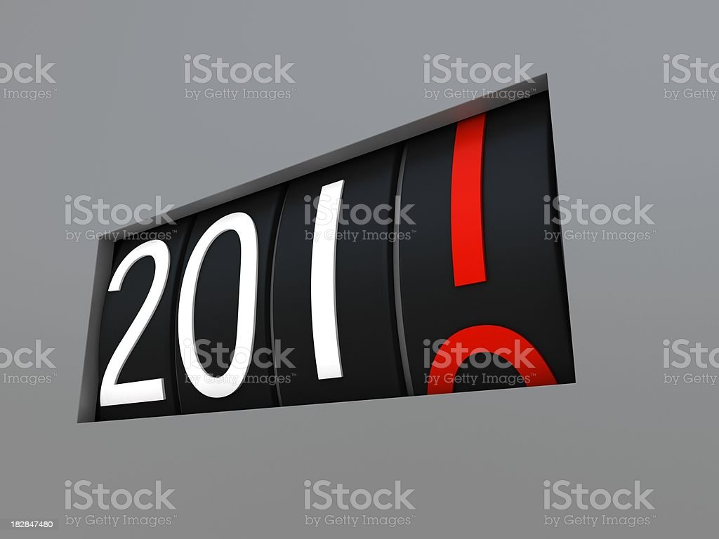 Happy New Year 2011 royalty-free stock photo