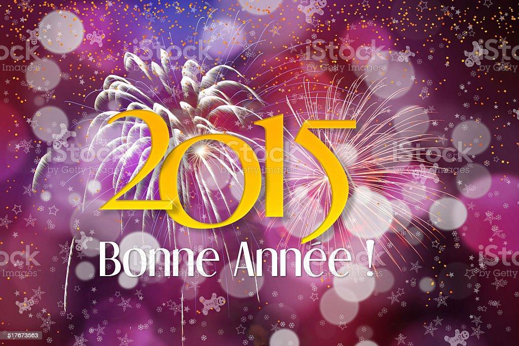 Happy New Year 2015 royalty-free stock photo