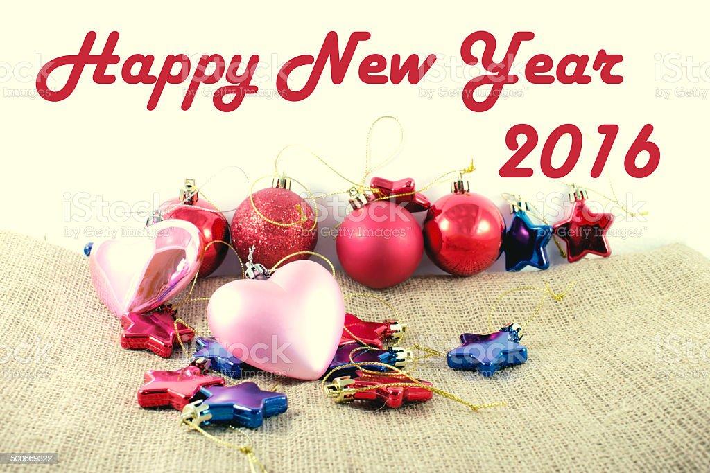 Happy new year 2016. royalty-free stock photo