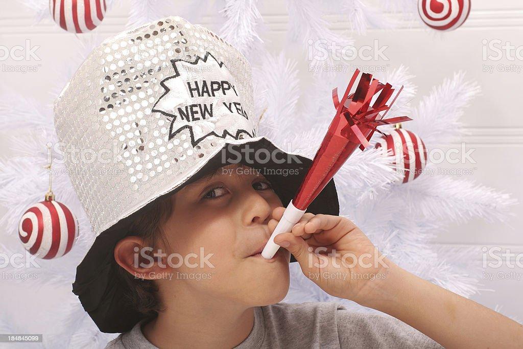 Happy New Year Celebration royalty-free stock photo