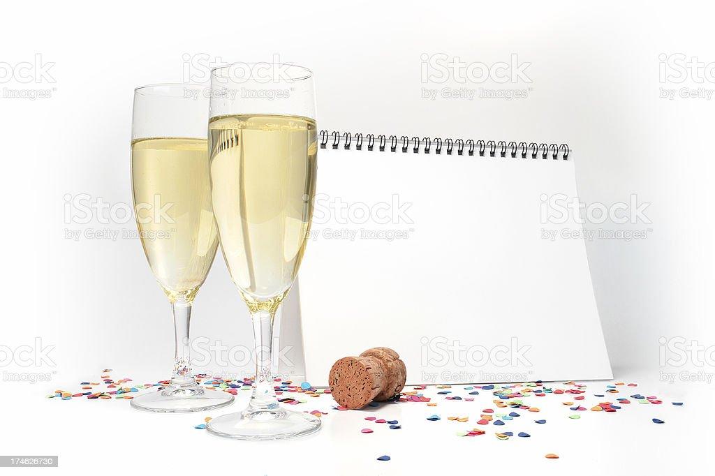 Happy New Year royalty-free stock photo