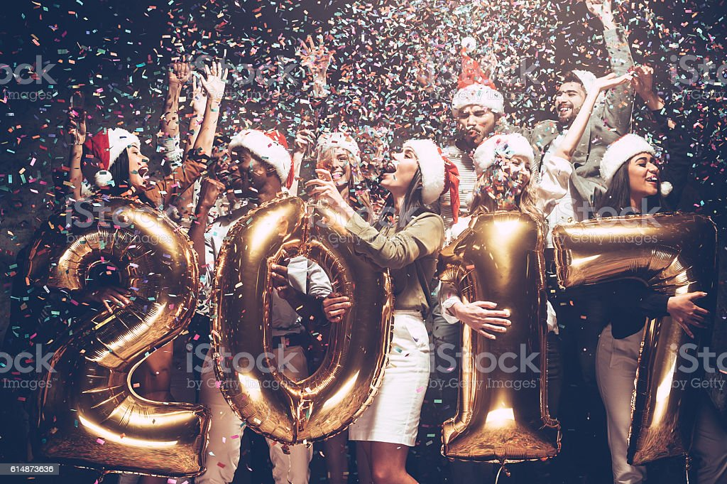 Happy New Year! stock photo