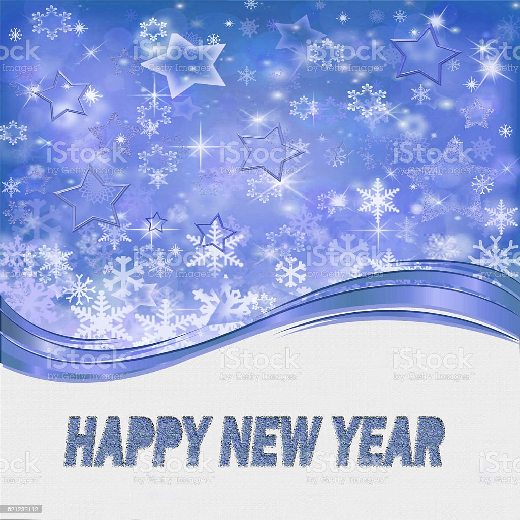Happy New Year ! stock photo