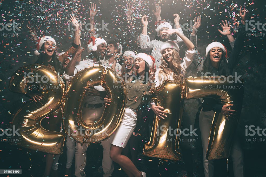 Happy New Year to you! stock photo