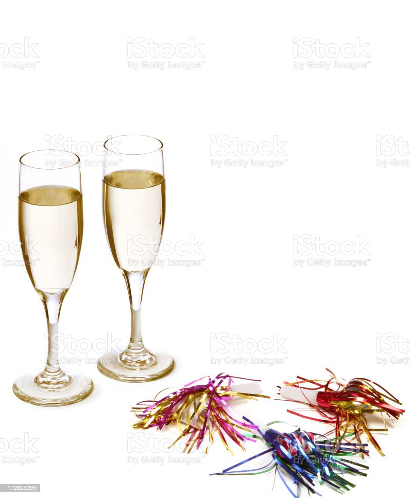 Happy New Year's Day (with copyspace) royalty-free stock photo