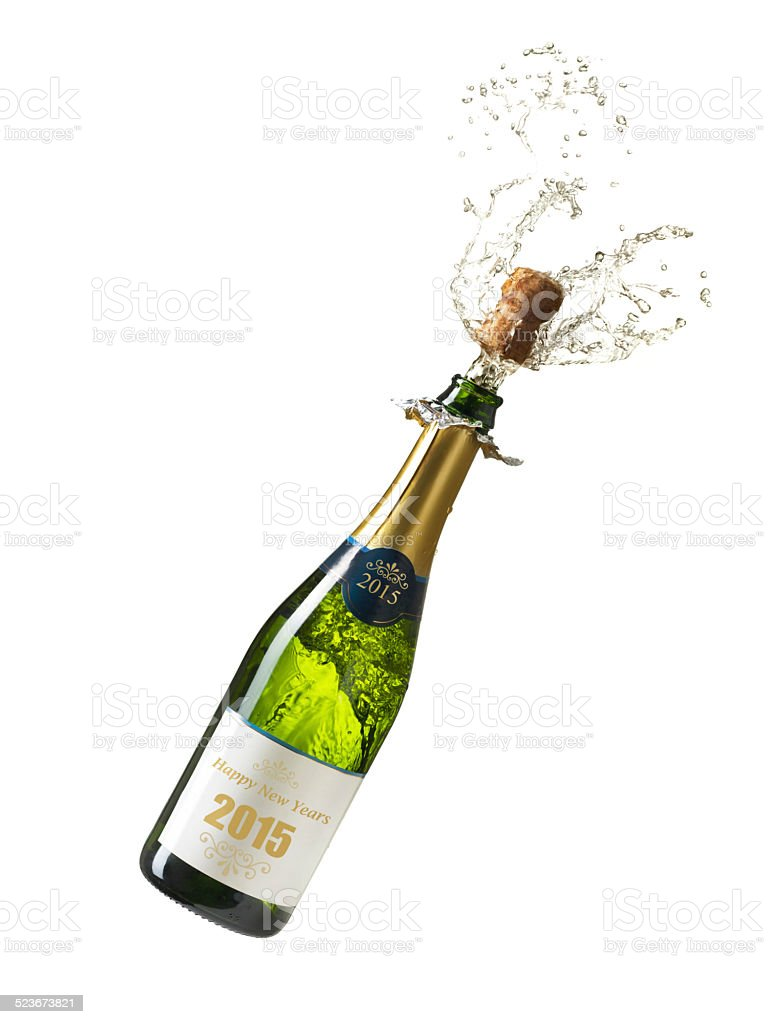 Happy News Year 2015 stock photo