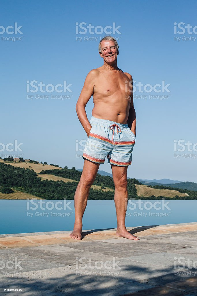 Happy on Holiday stock photo