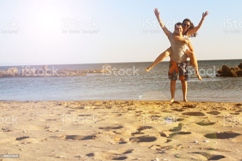 happy ones rise your hands stock photo