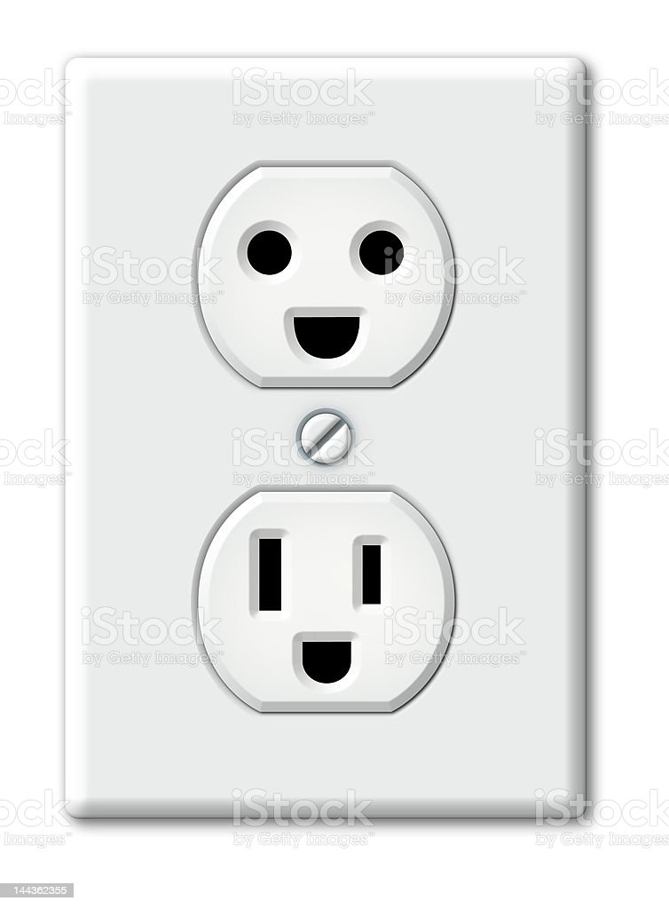 Happy Outlet stock photo