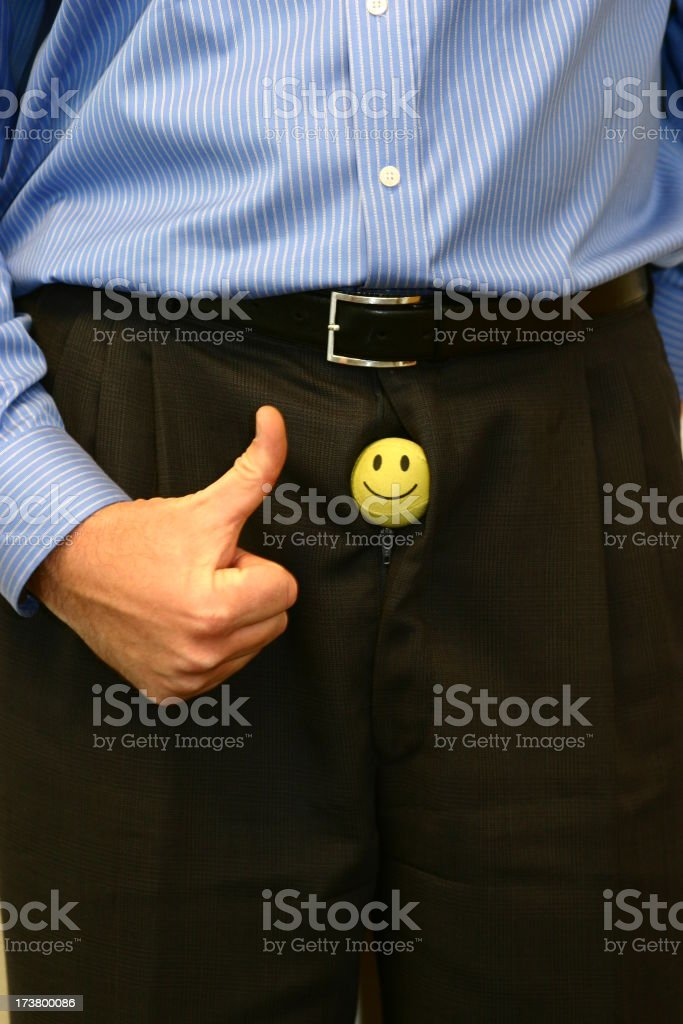 Pantaloni felice foto stock royalty-free