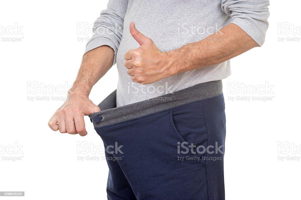 Happy Pants stock photo