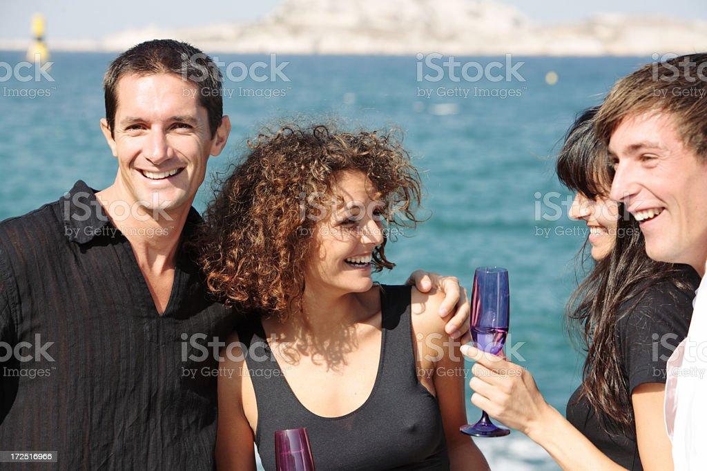 Happy Party royalty-free stock photo
