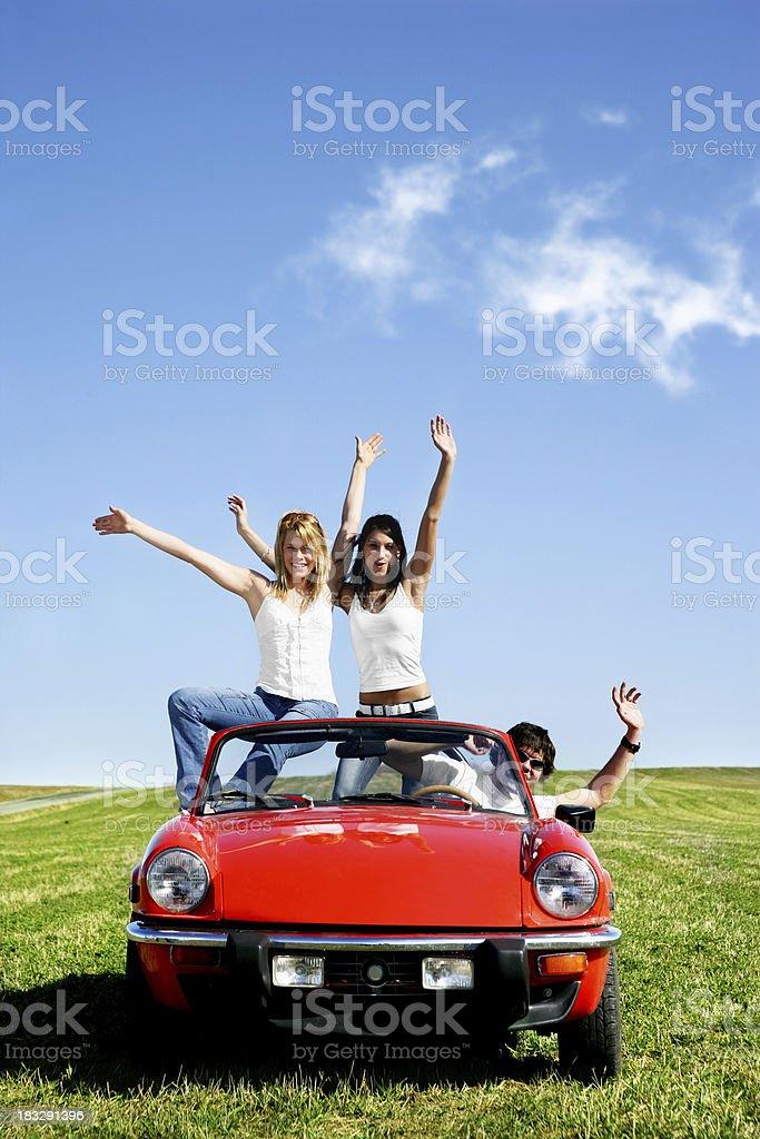 Happy people royalty-free stock photo