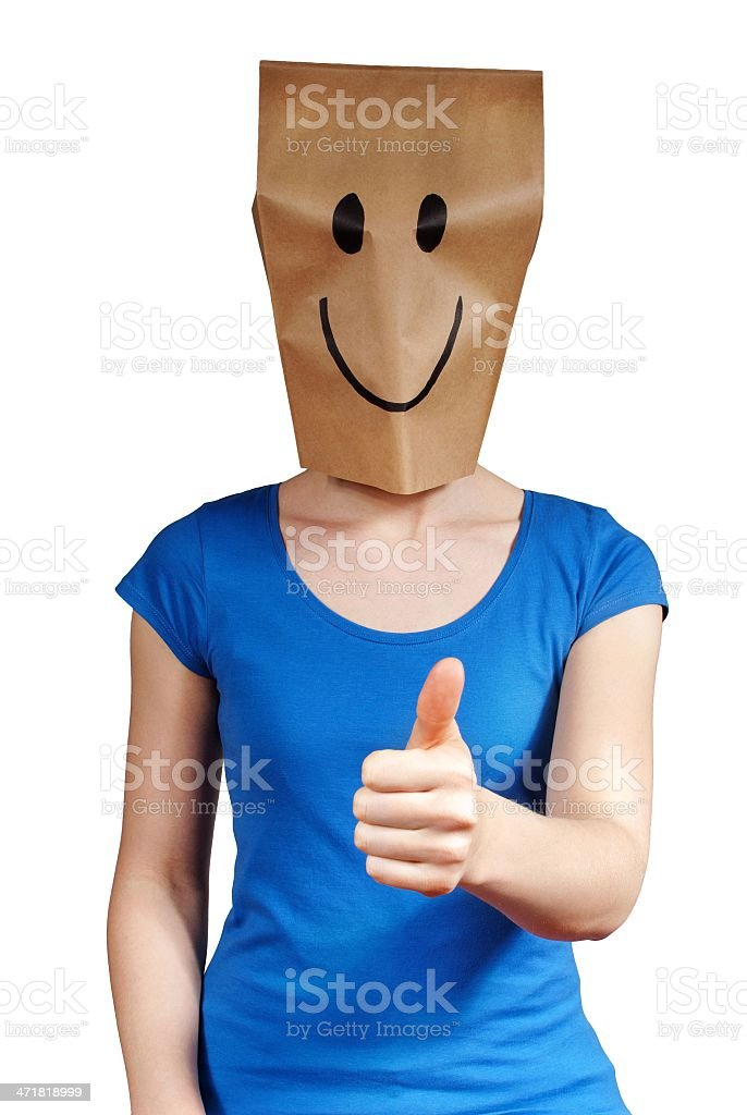 happy person stock photo
