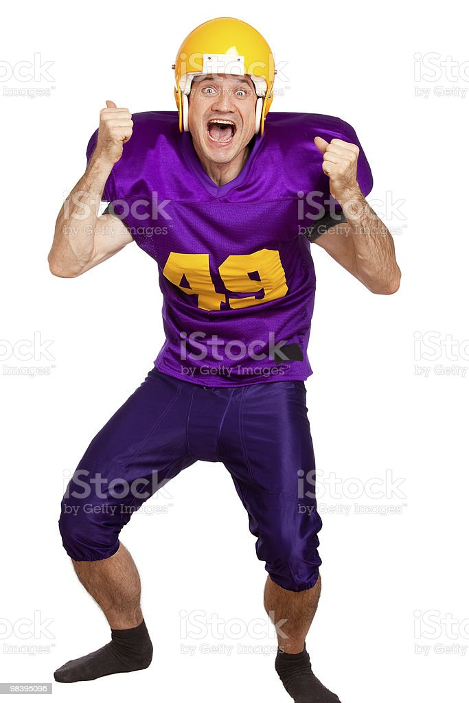 Happy Player royalty-free stock photo