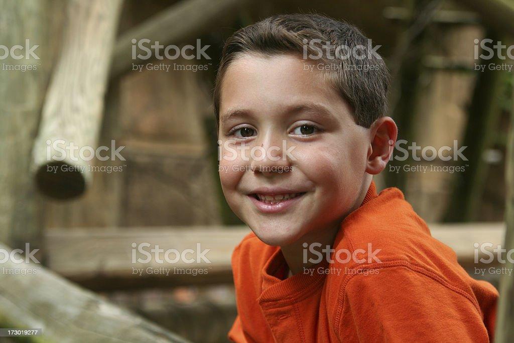 Happy Portrait royalty-free stock photo