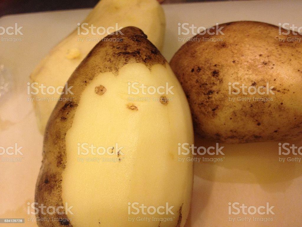 happy potato royalty-free stock photo