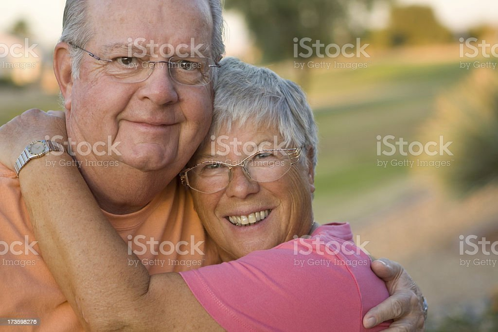 Happy Retired Couple royalty-free stock photo