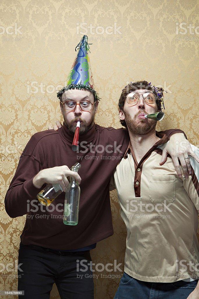 Happy Retro Celebration stock photo