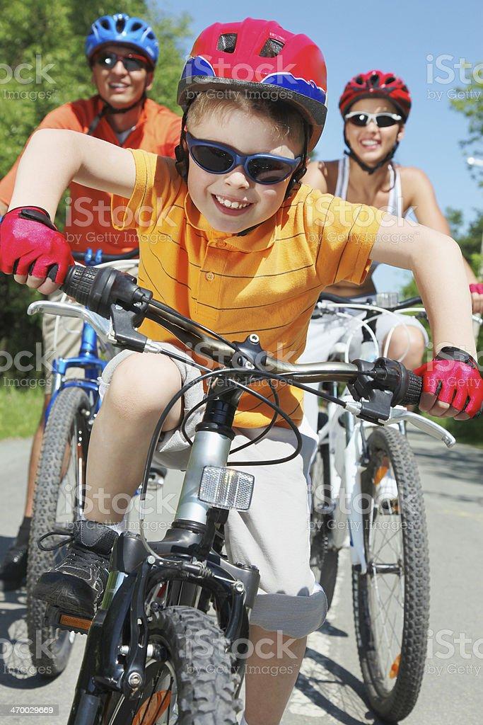 Happy ride stock photo