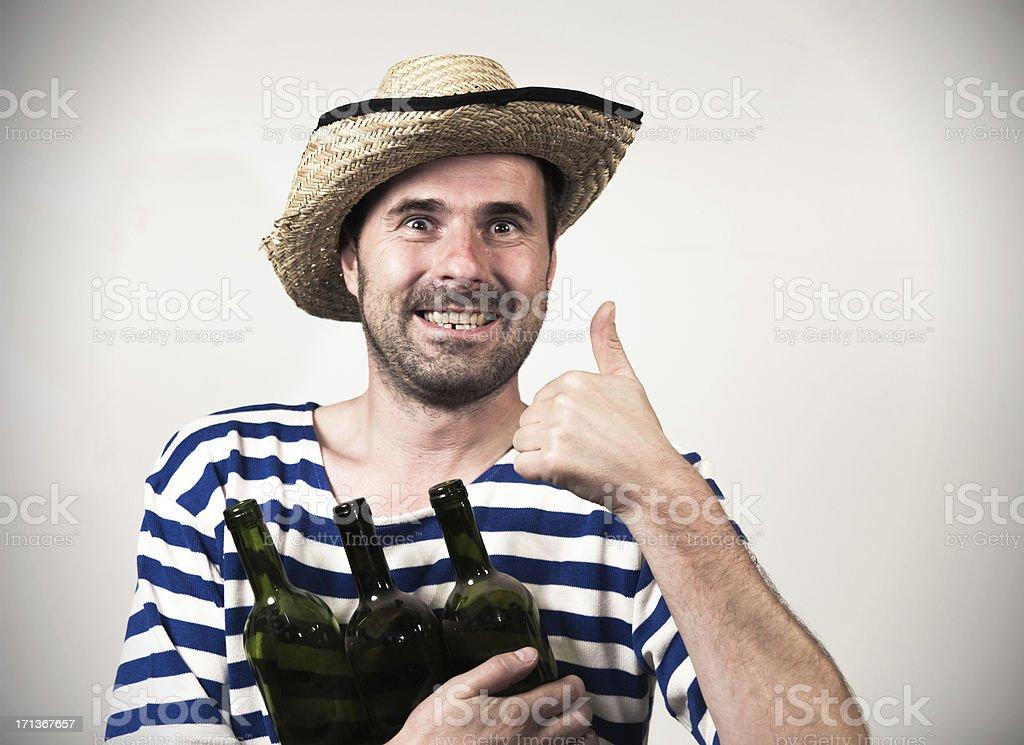 Happy sailor... royalty-free stock photo