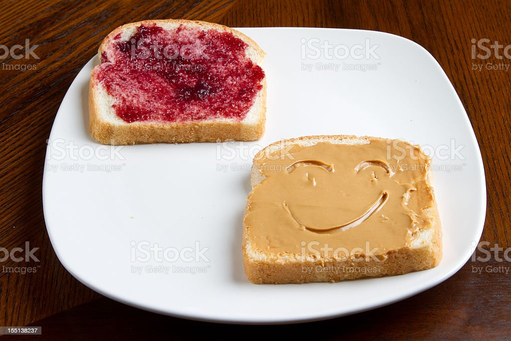 Happy Sandwich royalty-free stock photo