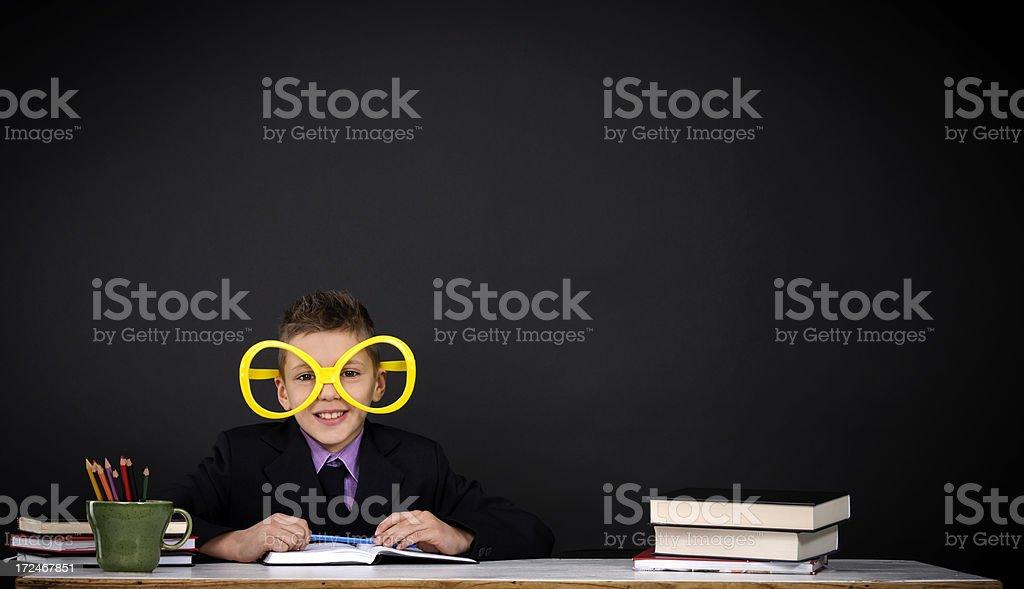 happy school boy royalty-free stock photo
