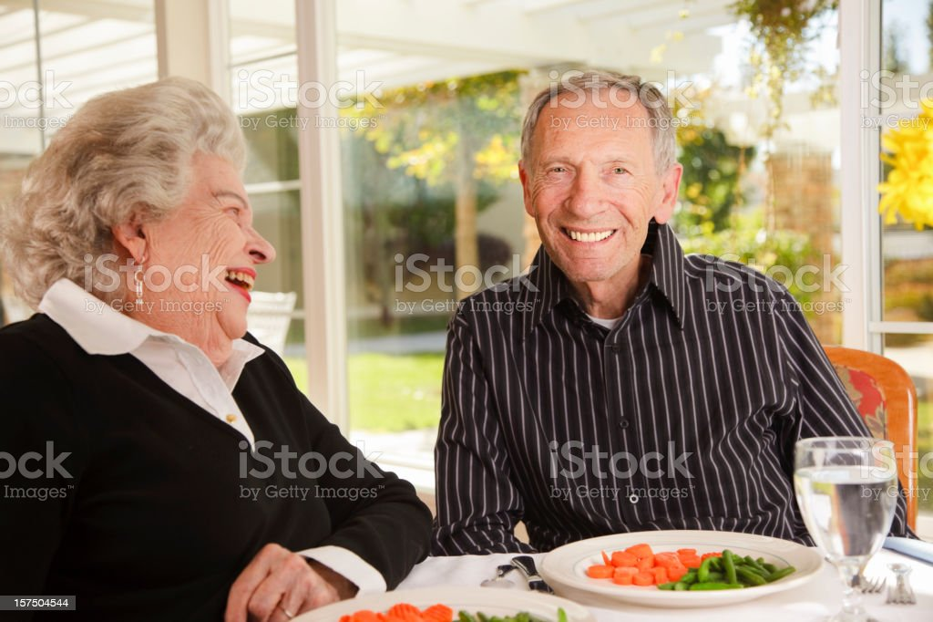 Happy Senior Citizens royalty-free stock photo