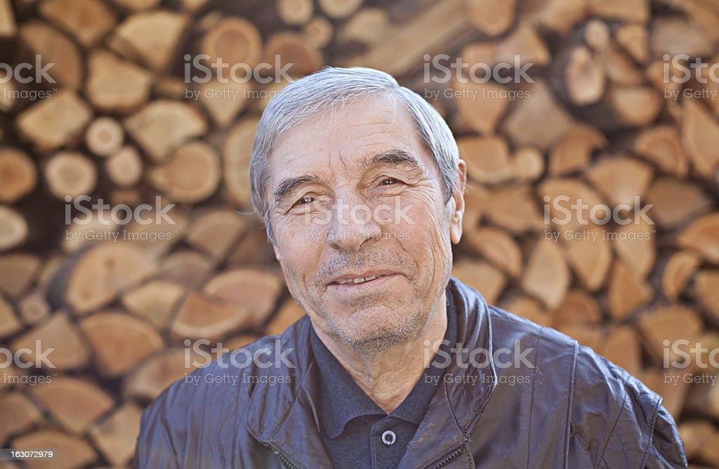 Happy Senior hombre foto de stock libre de derechos