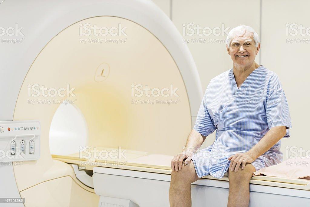 Happy senior patient. royalty-free stock photo