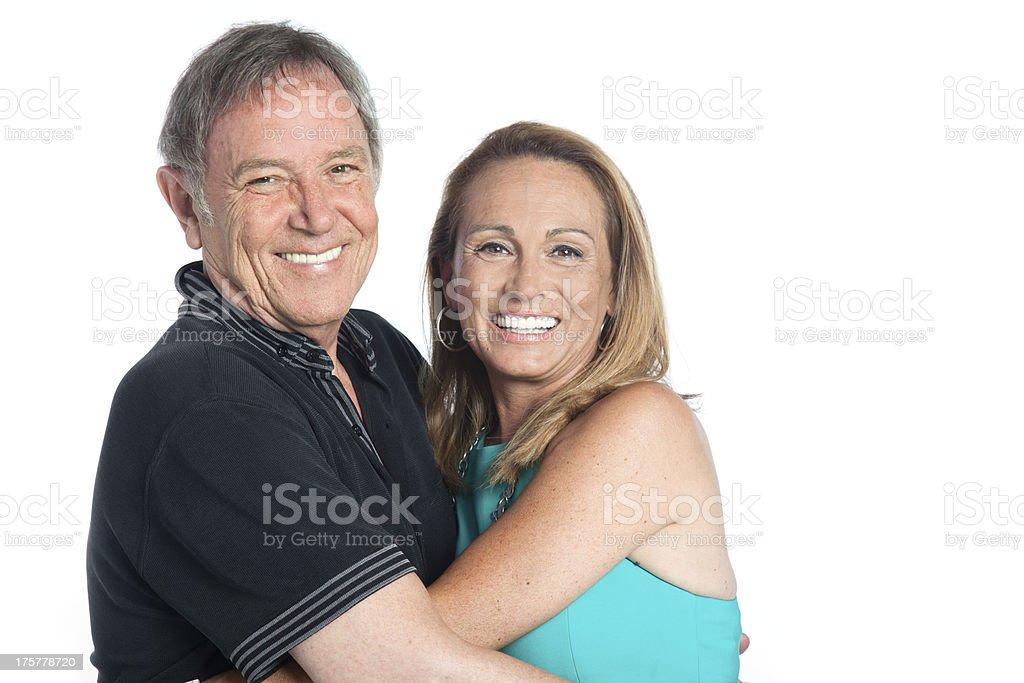 Happy seniorcouple royalty-free stock photo