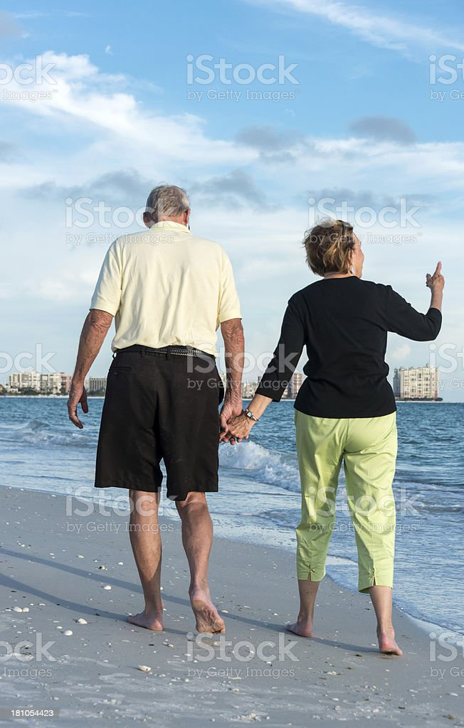Happy seniors royalty-free stock photo