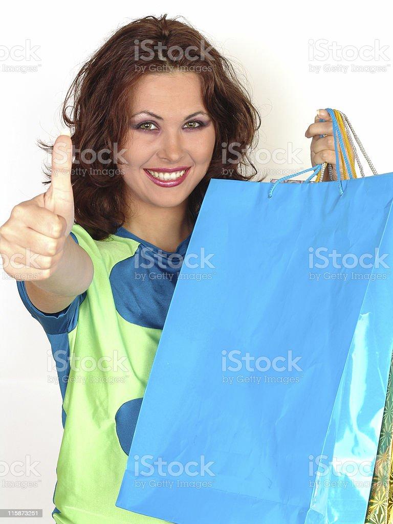 Happy shopping 05 stock photo