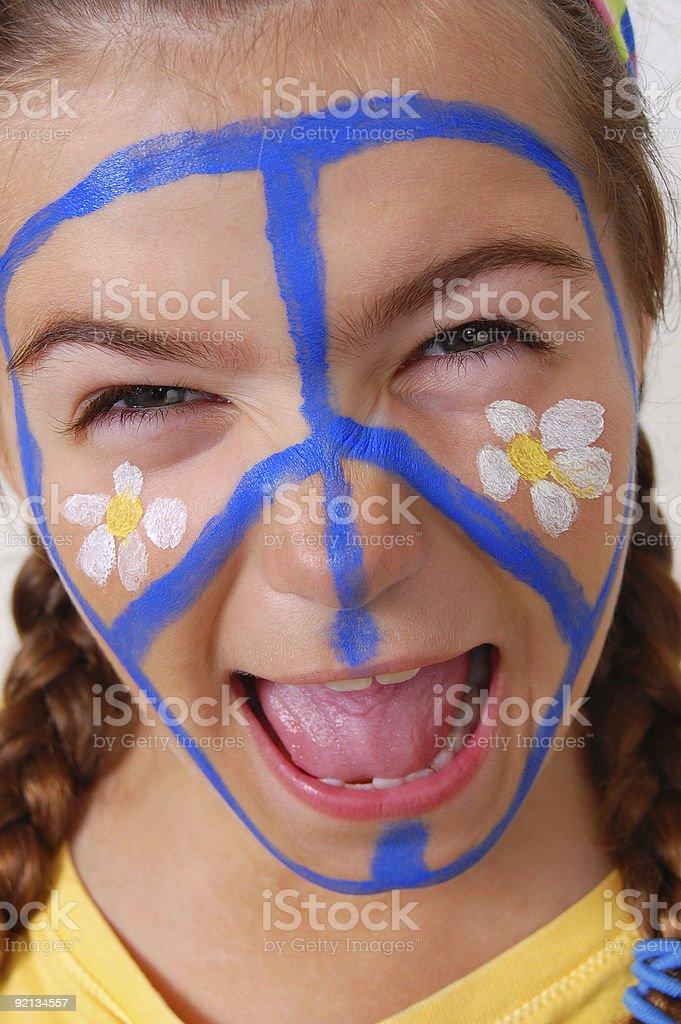 Happy Shout royalty-free stock photo