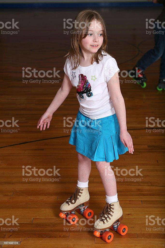 happy skating kid royalty-free stock photo