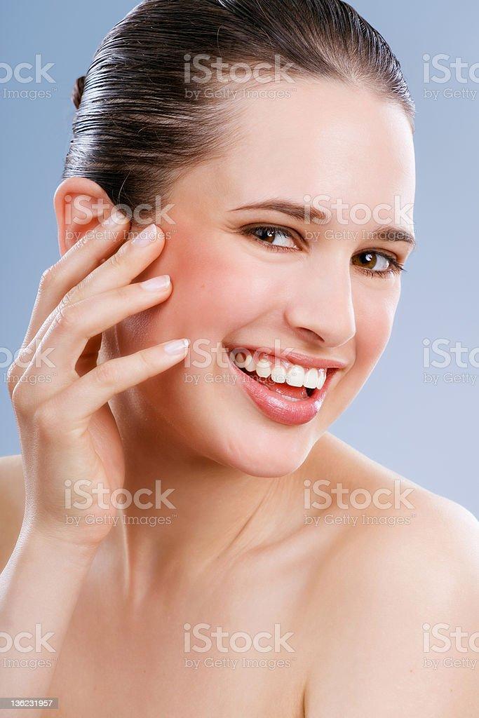 Happy Skin royalty-free stock photo