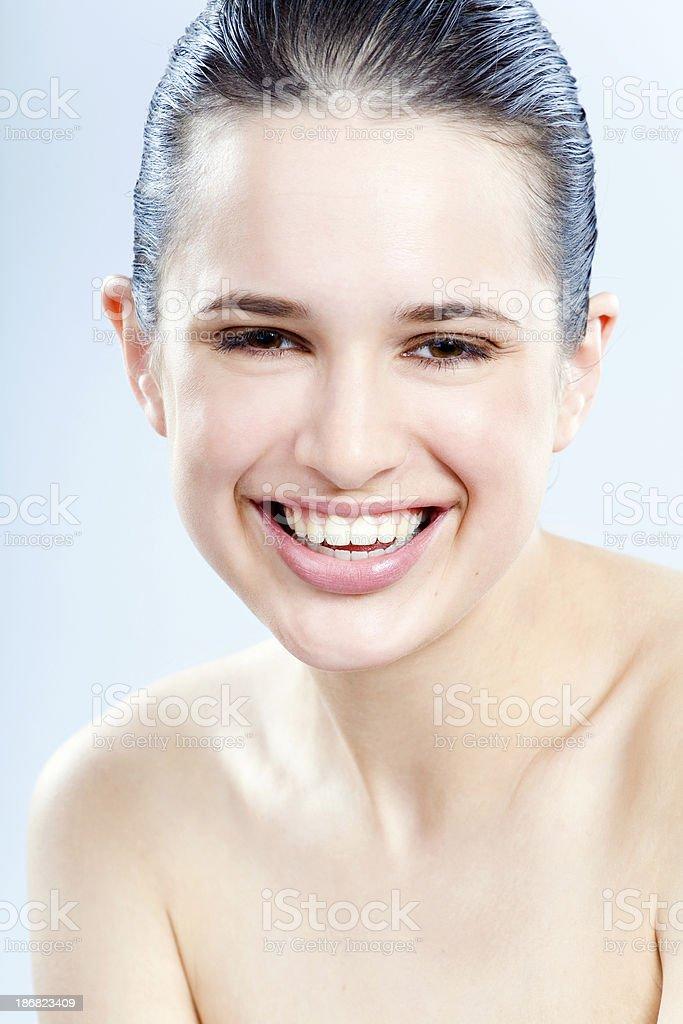 Happy Skin stock photo
