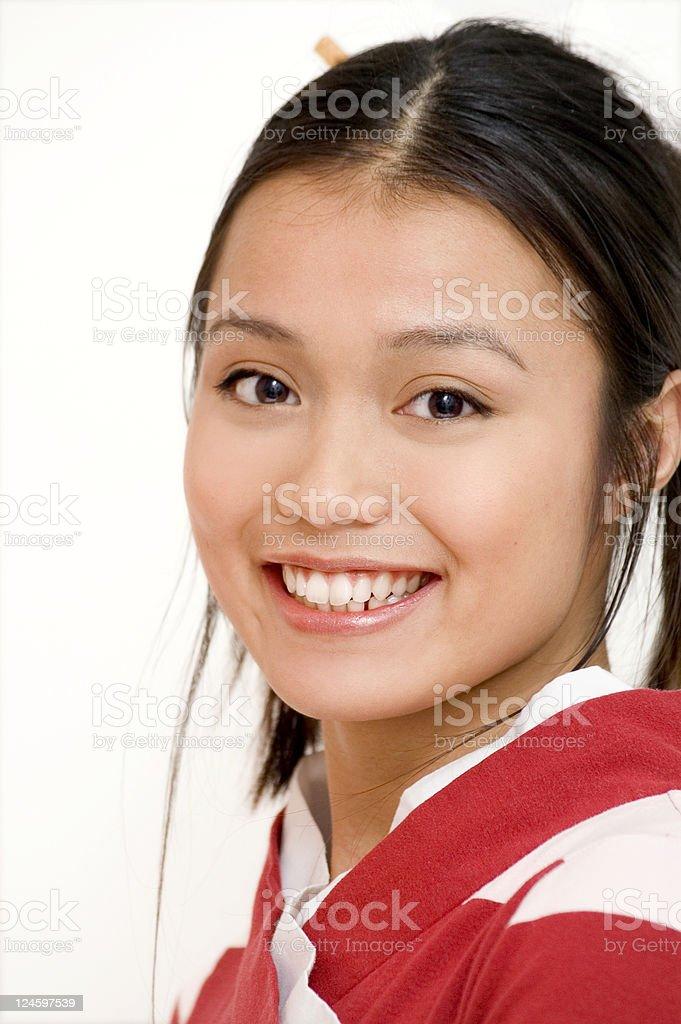 Happy Smile stock photo