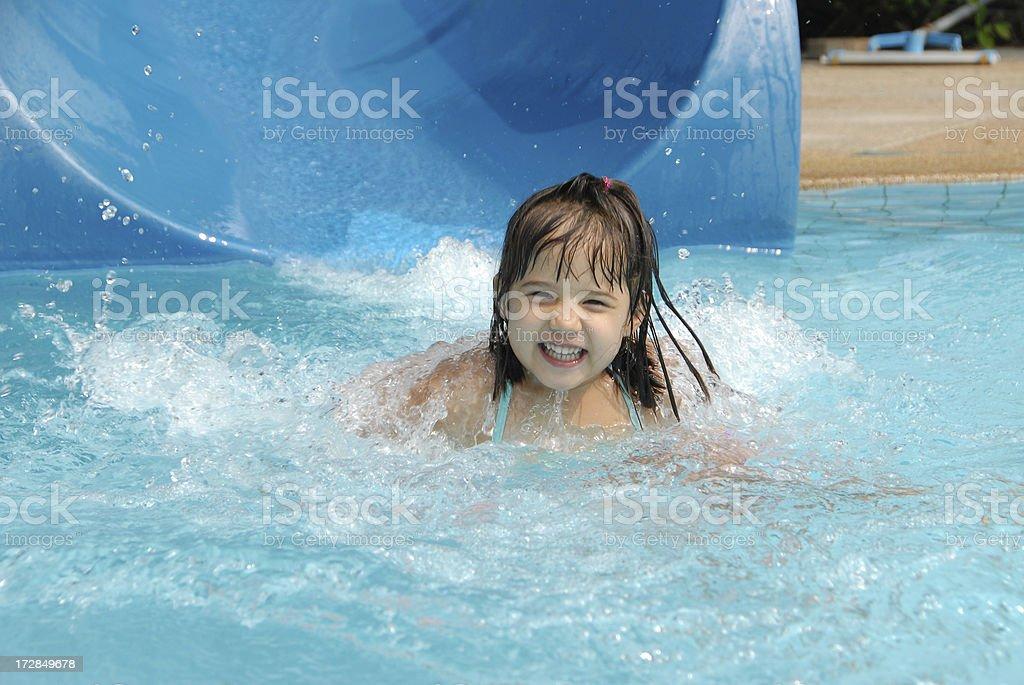 Happy Smilin Splash royalty-free stock photo