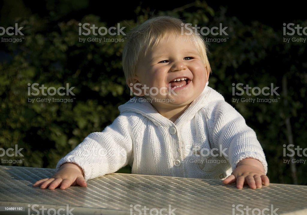 Happy Smiling Baby stock photo