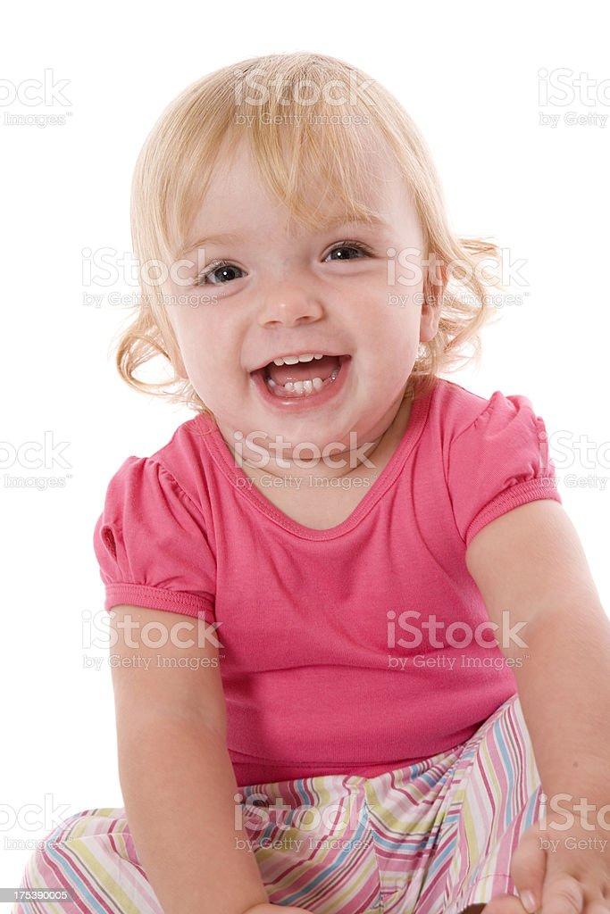 Happy Smiling Baby royalty-free stock photo