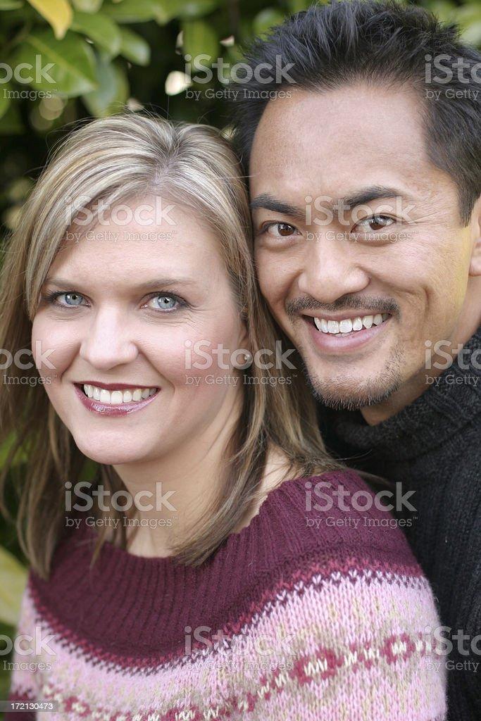 Happy, Smiling Couple royalty-free stock photo