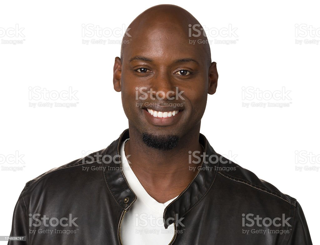 Happy Smiling Man Close Up Portrait royalty-free stock photo