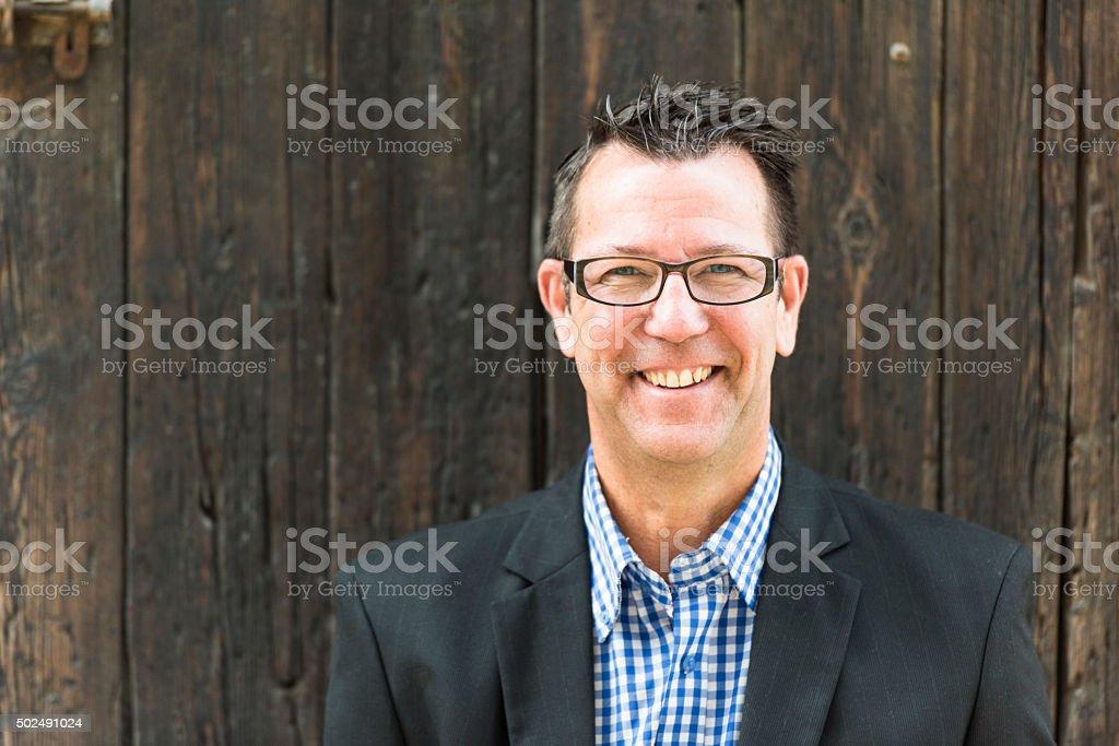 Happy & Smiling stock photo