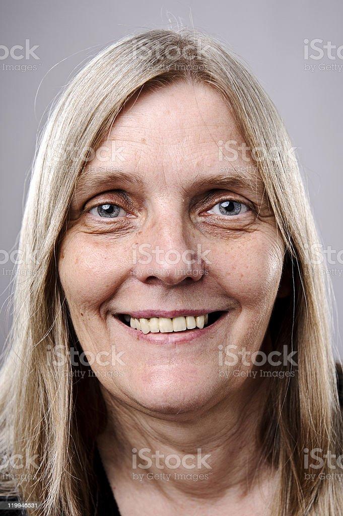 Happy smiling portrait royalty-free stock photo